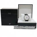 Montblanc(몽블랑) 4810 컬렉션 칼리버 MB 25.07 크로노그래프 스몰세컨즈 레가트 핸즈 43mm 오토메틱 레더밴드 남성용 시계 [인천점]