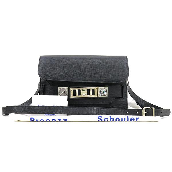 PROENZA SCHOULER(프로엔자슐러) PROENZA SCHOULER(프로엔자슐러) PS11 MINI CLASSIC NEW LINOSA 블랙 레더 숄더겸 크로스백 [강남본점]