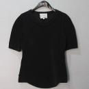 3.1 PHILLIP LIM(필립림) 블랙 컬러 폴리에스터 혼방 여성용 반팔 티셔츠 [대구반월당본점]