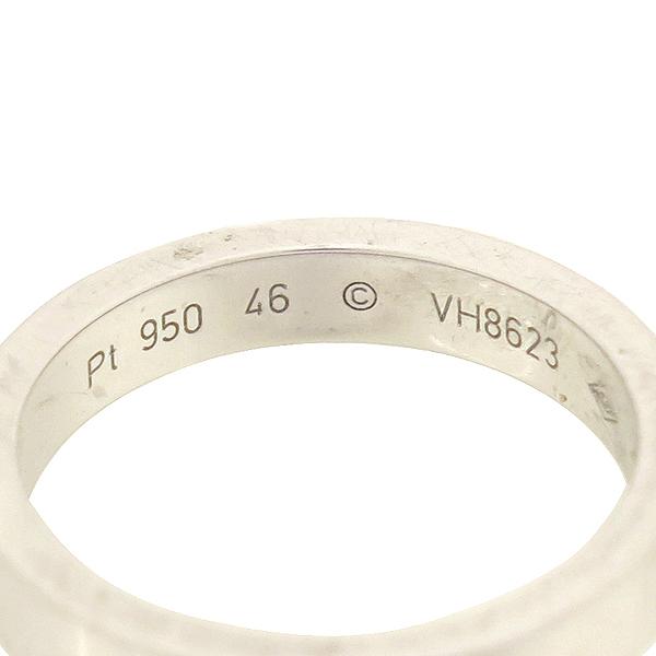 Cartier(까르띠에) B4051346 PT950 (플래티늄) 화이트골드 인그레이빙 1포인트 다이아 웨딩 반지 [강남본점] 이미지3 - 고이비토 중고명품