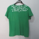 MARTIN MARGIELA (마틴마르지엘라) 그린 컬러 브이넥 티셔츠 [대구반월당본점]