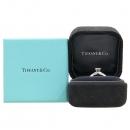 Tiffany(티파니) 31363055 PT950 플래티늄 골드 티파니 셋팅 0.28CT 1포인트 다이아 웨딩밴드 반지 [강남본점]