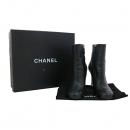 Chanel(샤넬) G30421X01000 블랙 레더 진주 장식 여성용 앵클 부츠 [대구동성로점]