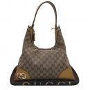 Gucci(구찌) 257070 베이지 컬러 GG 로고 자가드 금장 로고 장식 숄더백 [인천점]
