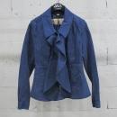 Burberry(버버리) 4050085 면 100% 퍼플 컬러 히든 버튼 여성용 자켓 [동대문점]