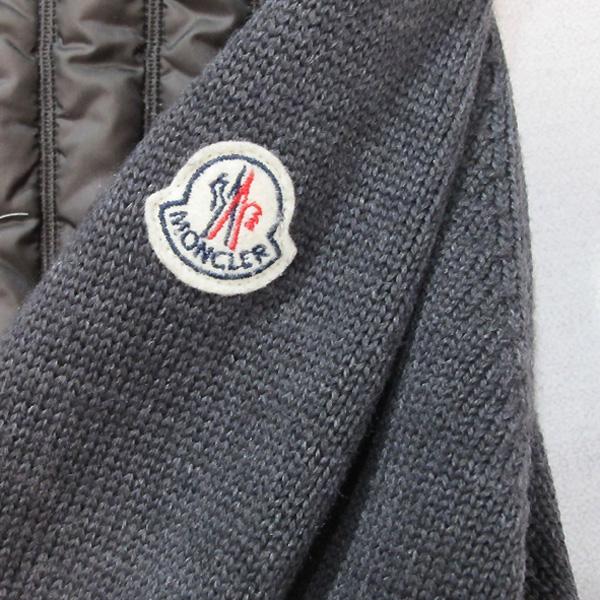 MONCLER(몽클레어) MAGLIONE 패딩 니트 집업 여성용 자켓 [대구반월당본점] 이미지4 - 고이비토 중고명품