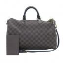Louis Vuitton(루이비통) N41182 다미에 에벤 스피디 반둘리에 35 토트백 + 숄더스트랩 2WAY [부산센텀본점]