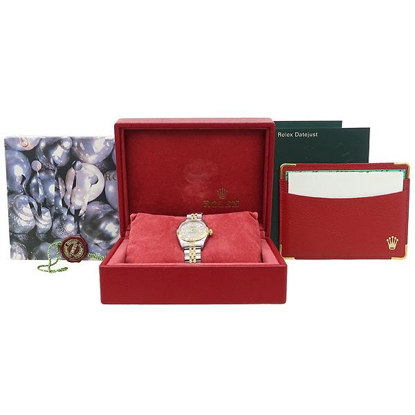 Rolex(로렉스) 79173 18K 콤비 DATEJUST(데이트저스트) 10포인트 다이아 자개판 여성용 시계 [강남본점]