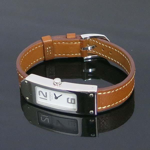 Hermes(에르메스) KT1.210 KELLY 켈리2 브라운 레더 여성용 시계 [동대문점] 이미지3 - 고이비토 중고명품