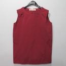 MARNI(마르니) 레드 컬러 여성용 나시 티셔츠 [대구반월당본점]