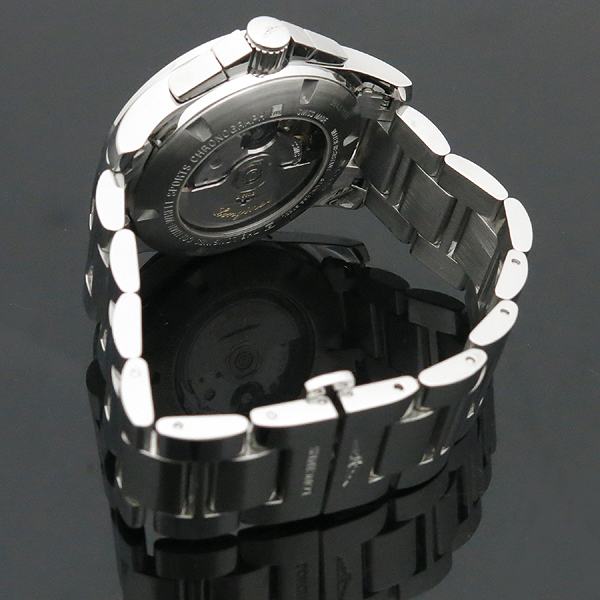 LONGINES(론진) L2.743.4 블랙 다이얼 Conquest (콘퀘스트) 데이트 크로노그래프 시스루백 스틸밴드 오토매틱 남성용 시계 [인천점] 이미지3 - 고이비토 중고명품