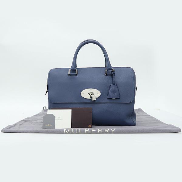 MULBERRY(멀버리) HH1293 Slate Blue(청회색) 은장 버클 델레이 토트백 [강남본점]