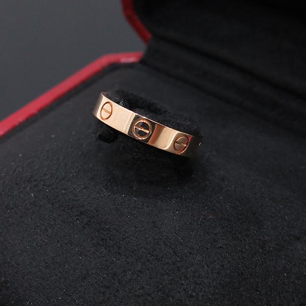 Cartier(까르띠에) B4085048 18K (750) 옐로우 골드 미니 러브링 반지 -8호 [인천점] 이미지2 - 고이비토 중고명품