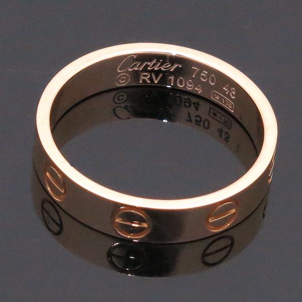Cartier(까르띠에) B4085048 18K (750) 옐로우 골드 미니 러브링 반지 -8호 [인천점] 이미지3 - 고이비토 중고명품