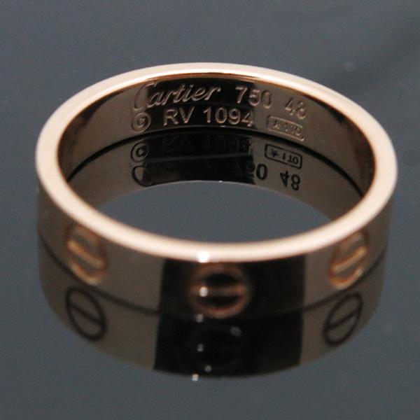 Cartier(까르띠에) B4085048 18K (750) 옐로우 골드 미니 러브링 반지 -8호 [인천점] 이미지4 - 고이비토 중고명품