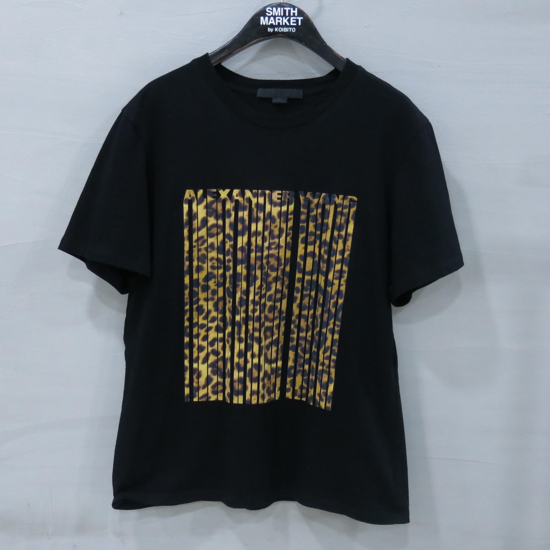 Alexanderwang(알렉산더왕) 블랙 컬러 프린팅 반팔 티셔츠 [부산센텀본점]