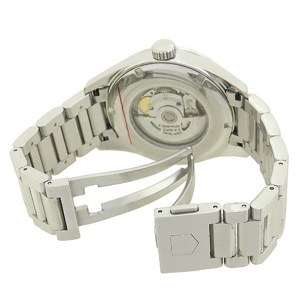 Tag Heuer(태그호이어) WAR201C-1 칼리버5 (까레라/카레라) 데이데이트 시스루백 오토매틱 스틸 남성용 시계 [강남본점] 이미지3 - 고이비토 중고명품