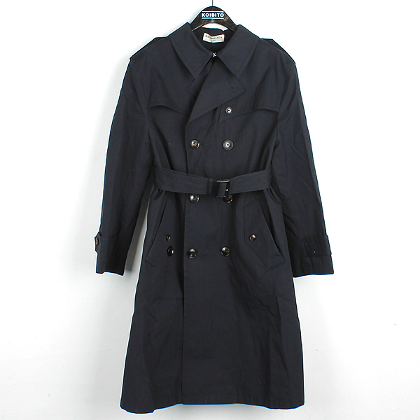 Balenciaga(발렌시아가) 446027 네이비 컬러 여성용 트렌치 코트 + 허리끈 SET [강남본점]