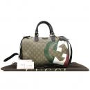 Gucci(구찌) 195451 GG 로고 PVC 아틸리아 GG로고 프린팅 한정판 보스톤 토트백 + 숄더 스트랩 [강남본점]