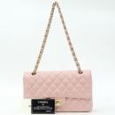 Chanel(샤넬) A01112 램스킨 핑크컬러 클래식 M사이즈 골드메탈 체인 플랩 숄더백 [강남본점]