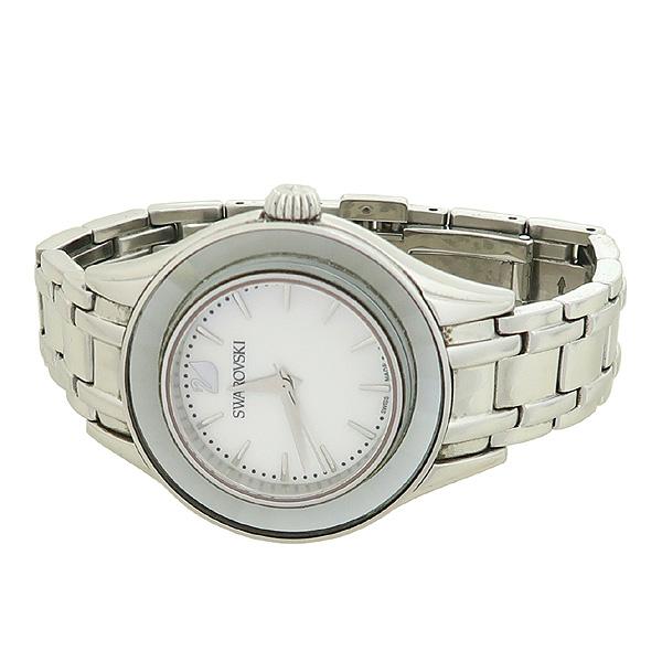 Swarovski(스와로브스키) 자개판 라운드 여성용 체인 시계 [강남본점]
