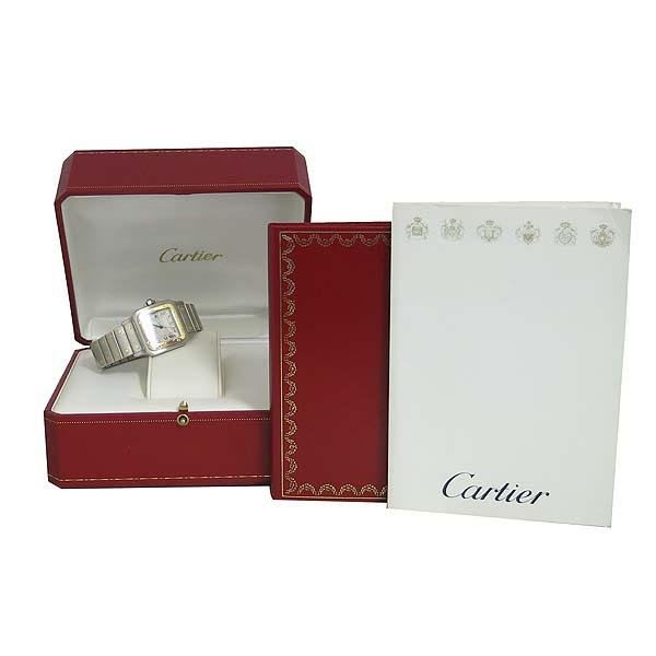 Cartier(까르띠에) W20011C4 18K 콤비 산토스 LM사이즈 남성용 시계 [동대문점]
