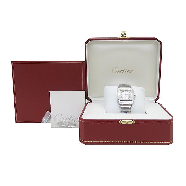 Cartier(까르띠에) W20055D6 산토스 스틸 오토매틱 LM사이즈 남성용 시계 [부산센텀본점]