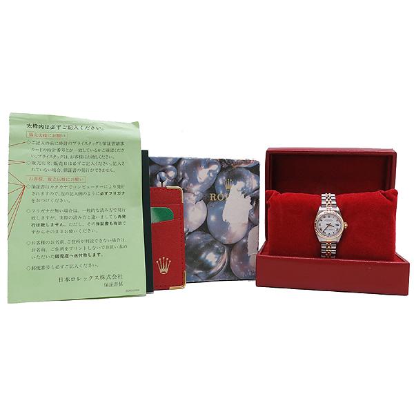 Rolex(로렉스) 79173 DATEJUST(데이트저스트) 18K 골드 콤비 화이트 다이얼 로마 인덱스 데이트 오토매틱 여성용 시계 [인천점]