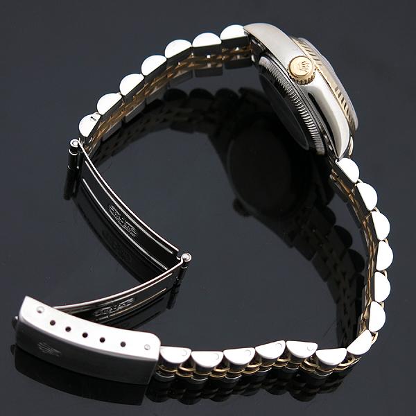 Rolex(로렉스) 79173 DATEJUST(데이트저스트) 18K 골드 콤비 화이트 다이얼 로마 인덱스 데이트 오토매틱 여성용 시계 [인천점] 이미지4 - 고이비토 중고명품