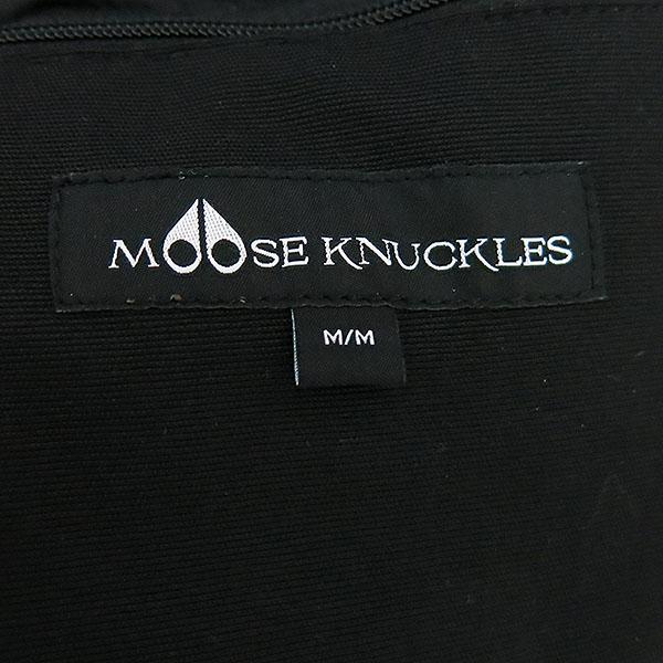 MOOSEKNUCKLES(무스너클) MK7589LPB 블랙컬러 가티노 골드시리즈 여성용 패딩 [대구반월당본점] 이미지4 - 고이비토 중고명품
