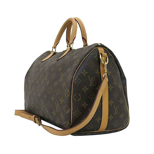 Louis Vuitton(루이비통) M40392 모노그램 캔버스 반둘리에 스피디 35 토트백+숄더스트랩 2WAY [부산센텀본점] 이미지2 - 고이비토 중고명품