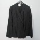 DKNY(도나카란) PURE DKNY 마 100% 블랙컬러 여성용 가디건 [대구반월당본점]