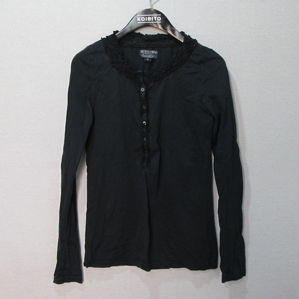 Polo Ralphlauren(폴로) Polo Jeans(폴로 진스) 블랙 컬러 면 100 여성용 티 [대구반월당본점]