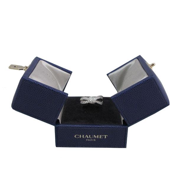 CHAUMET(쇼메) 083054 리앙 세뒥시옹 18K 화이트골드 다이아몬드 세팅 링 반지 - 7호 [대구동성로점]