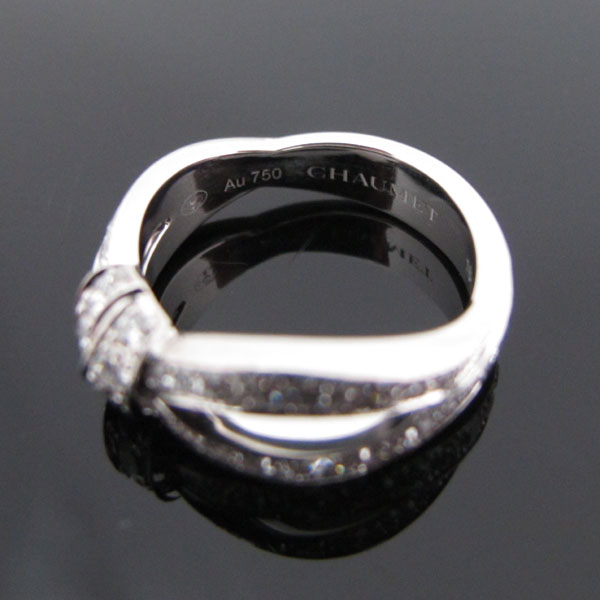 CHAUMET(쇼메) 083054 리앙 세뒥시옹 18K 화이트골드 다이아몬드 세팅 링 반지 - 7호 [대구동성로점] 이미지4 - 고이비토 중고명품