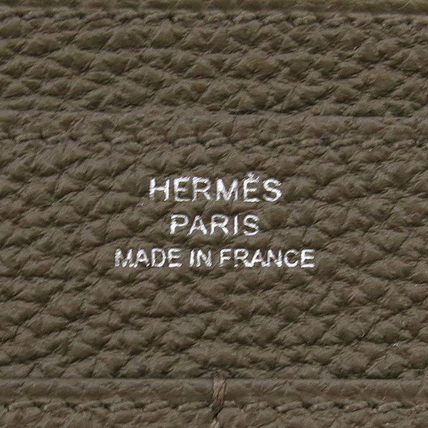Hermes(에르메스) 에도프 컬러 레더 금장 도곤 장지갑 + 보조파우치 [강남본점] 이미지4 - 고이비토 중고명품
