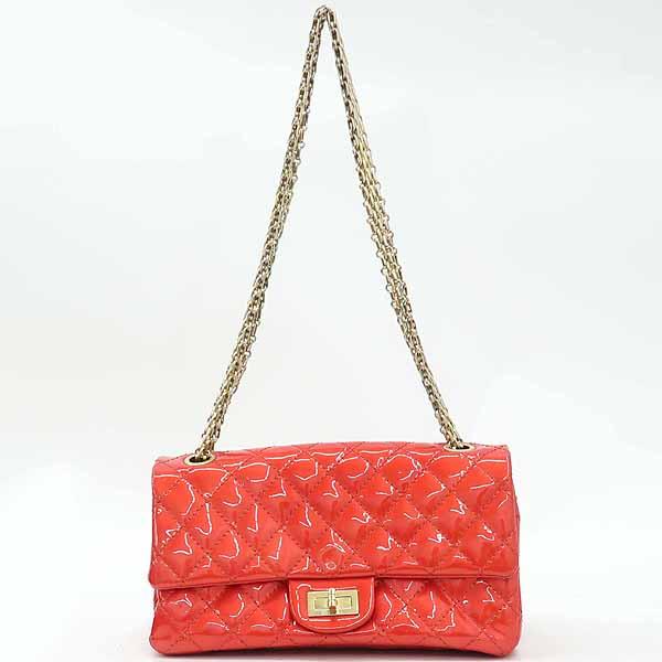 Chanel(샤넬) 레드 컬러 페이던트 2.55 금장 메탈 체인 숄더백 [강남본점] 이미지2 - 고이비토 중고명품