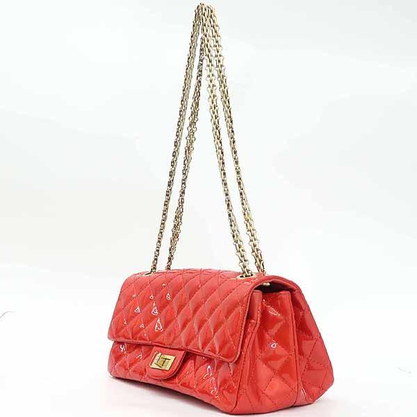 Chanel(샤넬) 레드 컬러 페이던트 2.55 금장 메탈 체인 숄더백 [강남본점] 이미지3 - 고이비토 중고명품