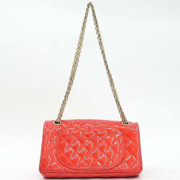 Chanel(샤넬) 레드 컬러 페이던트 2.55 금장 메탈 체인 숄더백 [강남본점] 이미지4 - 고이비토 중고명품