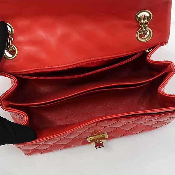 Chanel(샤넬) 레드 컬러 페이던트 2.55 금장 메탈 체인 숄더백 [강남본점] 이미지5 - 고이비토 중고명품