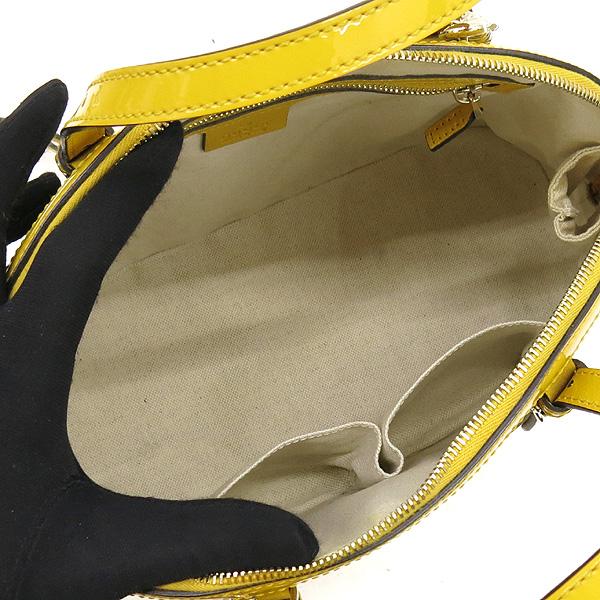 Gucci(구찌) 309617 옐로우 컬러 마이크로 시마 페이던트 레더 토트백 + 숄더 스트랩 [강남본점] 이미지5 - 고이비토 중고명품