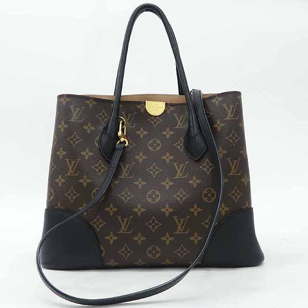Louis Vuitton(루이비통) M41595 모노그램 캔버스 Noir 컬러 플랑드랭 토트백 + 숄더스트랩 [강남본점]