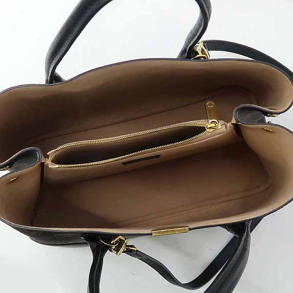 Louis Vuitton(루이비통) M41595 모노그램 캔버스 Noir 컬러 플랑드랭 토트백 + 숄더스트랩 [강남본점] 이미지4 - 고이비토 중고명품