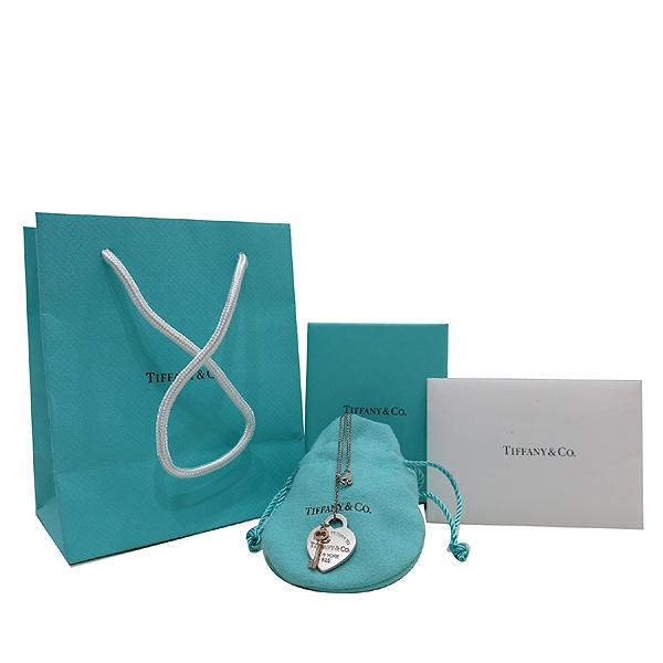 Tiffany(티파니) 실버(925) 리턴 투 티파니™ 하트 키 펜던트 목걸이 [인천점]