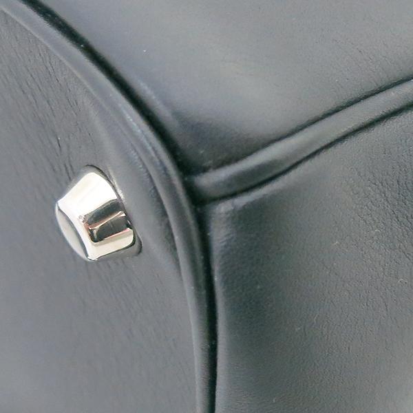 Dior(크리스챤디올) 블랙 레더 BE DIOR(비 디올) 토트백 + 숄더 스트랩 2WAY [부산센텀본점] 이미지5 - 고이비토 중고명품