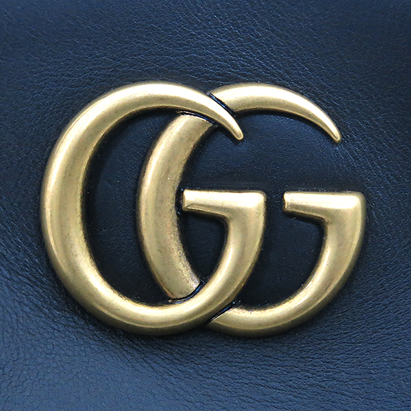 Gucci(구찌) 443501 GG마몽트 블랙 레더 체인 숄더백 [부산센텀본점] 이미지4 - 고이비토 중고명품