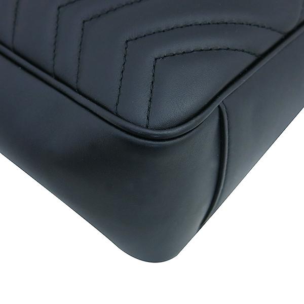 Gucci(구찌) 443501 GG마몽트 블랙 레더 체인 숄더백 [부산센텀본점] 이미지5 - 고이비토 중고명품