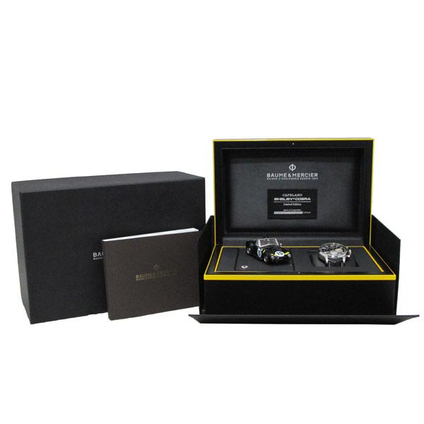 Baume&Mercier(보메 메르시에) M0A10282 쉘비 코브라 Limited edition 1963 블랙 & 옐로우 가죽밴드 남성용 시계 [대구동성로점]