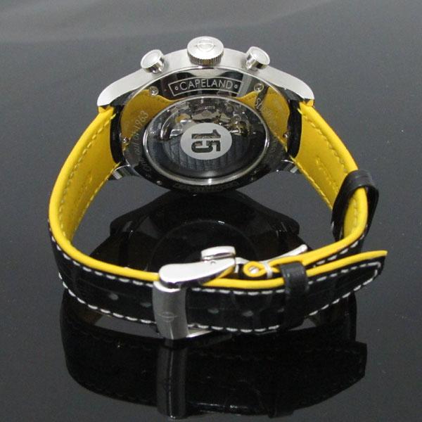 Baume&Mercier(보메 메르시에) M0A10282 쉘비 코브라 Limited edition 1963 블랙 & 옐로우 가죽밴드 남성용 시계 [대구동성로점] 이미지4 - 고이비토 중고명품