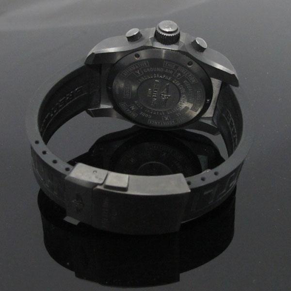 BREITLING(브라이틀링) VB5010221B1S1 블랙 티타늄 Professional(프로페셔널) Cockpit B50 러버 밴드 남성용 시계 [대구동성로점] 이미지4 - 고이비토 중고명품